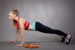 Фитнес для красивого тела Стоковое Фото