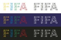 ФИФА иллюстрация вектора