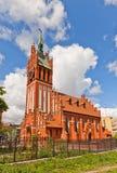 Филармонический орган Hall (1907) в Калининграде, России стоковое изображение