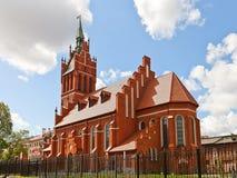 Филармонический орган Hall (1907) в Калининграде, России стоковое фото