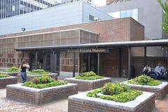 Филадельфия, 4-ое августа: Здание музея Бенджамина Франклина от Филадельфии в Пенсильвании стоковое изображение
