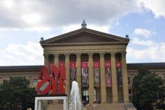 Филадельфия, 4-ое августа: Здание музея изобразительных искусств от Филадельфии в Пенсильвании Стоковое фото RF