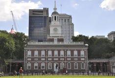 Филадельфия, 4-ое августа: Здание Hall независимости от Филадельфии в Пенсильвании Стоковое Изображение