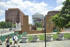 Филадельфия, 4-ое августа: Национальный парк независимости от Филадельфии в Пенсильвании Стоковые Фото