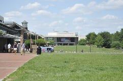 Филадельфия, 4-ое августа: Национальный центр конституции от Филадельфии в Пенсильвании Стоковые Изображения RF