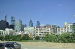 Филадельфия, 4-ое августа: Небоскребы от Филадельфии в Пенсильвании стоковые изображения rf