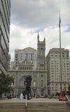 Филадельфия, 4-ое августа: Masonic висок от Филадельфии в Пенсильвании стоковые фотографии rf