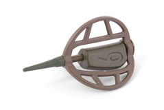 Фидер для удить в грамме веса 60 (путь клиппирования) Стоковое Изображение RF