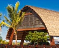 Фиджийская архитектура на курорте Momi Стоковые Фотографии RF