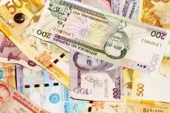 Филиппинские бумажные деньги песо Стоковая Фотография
