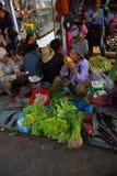 Филиппинский Vegetable рынок Стоковое Фото