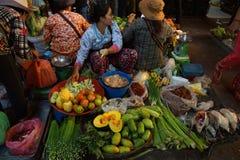 Филиппинский Vegetable рынок Стоковое фото RF