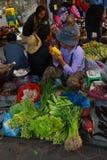 Филиппинский Vegetable рынок Стоковые Фото