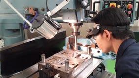 Филировать машины делает и ремонтирует прессформу Стоковые Изображения RF