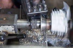 Филировальная машина металла Стоковые Изображения