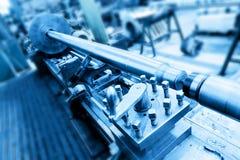 Филировальная машина сверлящ, бурить и в мастерской Индустрия, промышленная Стоковые Изображения