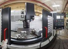 Филировальная машина CNC Стоковая Фотография