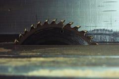 Филируя резец Круглый диск металла Диск пилы Стоковое Изображение RF