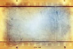 Фильм обнажает предпосылку Стоковые Изображения