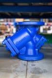 Фильтр литого железа y Стоковое фото RF