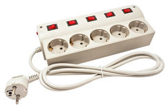 Фильтр силового кабеля Стоковое фото RF