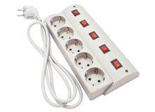 Фильтр силового кабеля Стоковое Фото