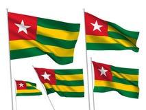 Флаги вектора Того иллюстрация штока