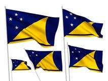 Флаги вектора Токелау иллюстрация штока