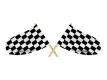 Флаги гонки Стоковое фото RF