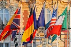 Флаги мира стоковые изображения