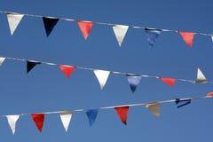 флаги овсянки Стоковое Изображение RF