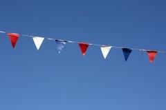 флаги овсянки Стоковые Изображения RF