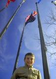 флаги ребенка вниз стоковые фото