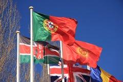 флаги страны стоковое изображение