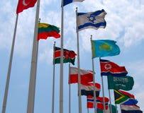 флаги Стоковое Изображение