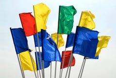 флаги стоковые фотографии rf