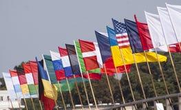 Флаги Стоковые Изображения