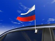 флаг автомобиля Стоковое Фото