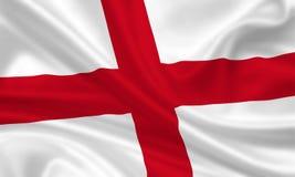 флаг Англии Стоковые Изображения RF