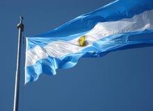 флаг Аргентины Стоковое фото RF
