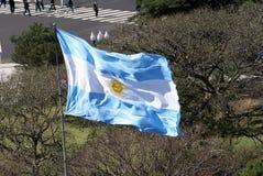 флаг Аргентины Стоковые Фотографии RF