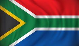 флаг Африки южный Стоковые Изображения