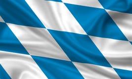 флаг Баварии Стоковое Фото