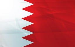 флаг Бахрейна Стоковые Изображения