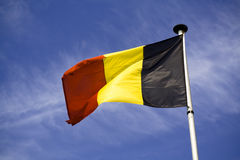 флаг Бельгии Стоковые Изображения