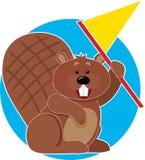 флаг бобра Стоковая Фотография