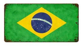 флаг Бразилии стоковое изображение