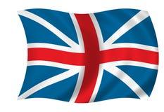 флаг Британии большой иллюстрация вектора