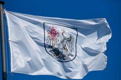 Флаг Буэнос-Айрес стоковое изображение