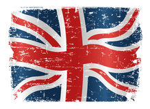 флаг Великобритания конструкции Стоковые Фотографии RF